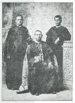 Mar Makil, Mar Choolaparambil and Fr. Vattakkalam who went to Rome.