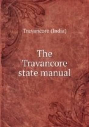 On Knanaya Migration in Travancore State Manual