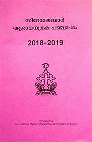 The Church Calendar 2018-2019 Chronological order of the History of the Syro-Malabar Church (Partial)