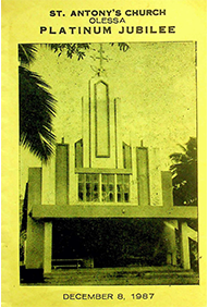 Olessa Church Platinum Jubilee 1987