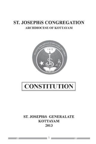 St. Joseph's Congregation Constitution