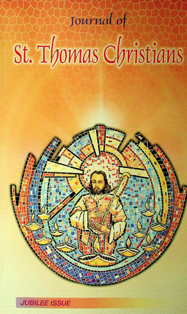 Journal of St. Thomas Christians, Jubilee Issue (Partial)