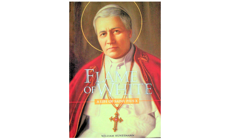 Flame of White, Biography of St. Pope Pius X who establised Kottayam Missam in 1911 excelusively for Knanaya Catholics