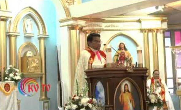 Thanksgiving Speech by Chicago Forane Vicar Fr. Abraham Mutholath suggesting Knanaya Diocese in North America on March 22, 2015.