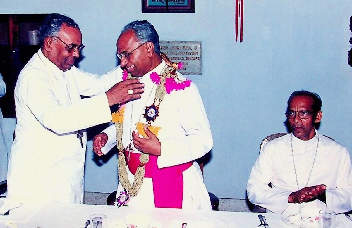 Reception to Bishop Mar Jacob Angadiath