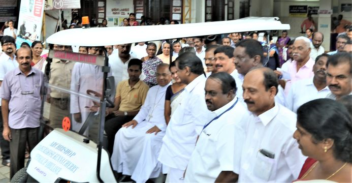 Buggy Cars donated to Kottayam District Hospital