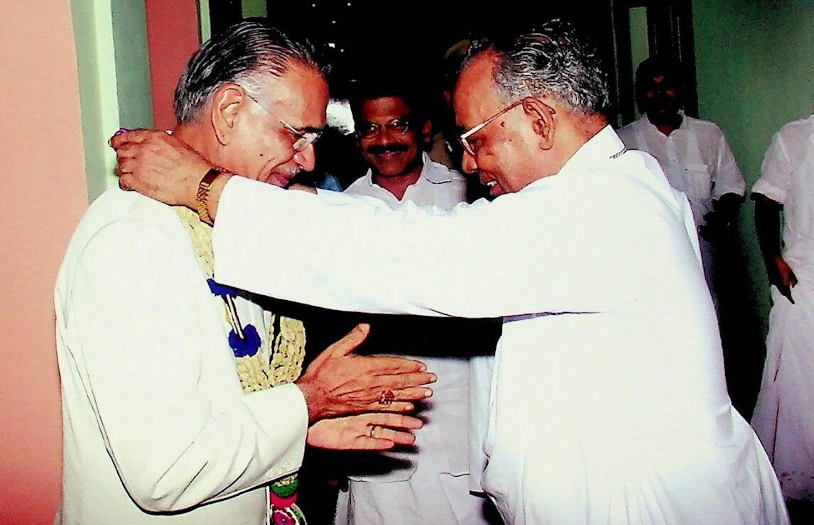 Reception to Shivraj Patil at Kottayam Bishop's House