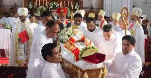 Funeral of Archbishop Mar Kuriakose Kunnacherry