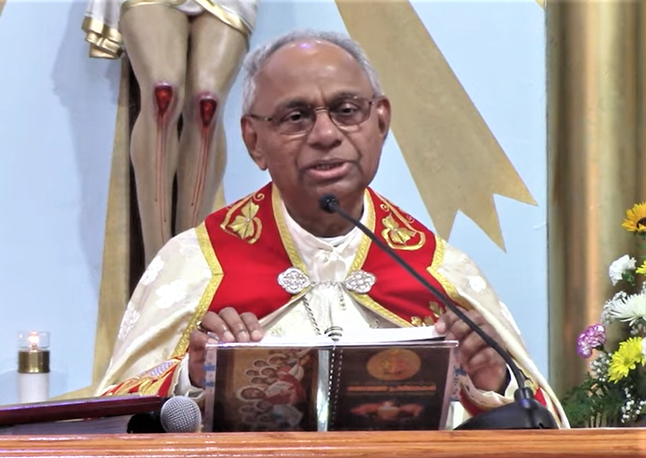 Appreciation by Fr. Mutholath and Fr. Mulavanal to Mar Angadiath and his reply on September 19, 2021